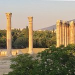Temple of Zeus at sunset!