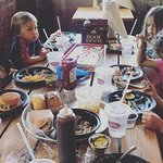 Kids love BBQ!