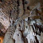 Intérieur des grottes