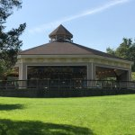 The view of the Carousel from picnic area