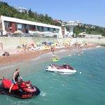 Пляж отеля Вилла Алина