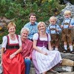 Gastgeberfamilie Kohler und Türtscher