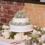 Dulce de leche wedding cake!
