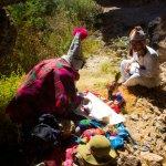 Ceremonia de agradecimiento a la pachamama valle sagrado Cusco - Perú