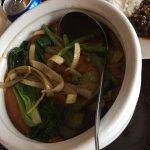 Treasure Island Kare-kare (Seafood in peanut sauce)
