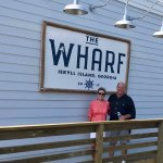 "The ""Wharf Restaurant"" is open!"