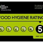 5 star rating for food hygiene