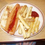 Children's Hot Dog & Fries