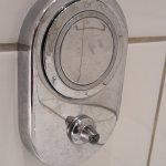 a broken of bathroom hook is not something to leave unfixed