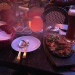 Kommt richtig heiß und mit deri Saucen auf den Tisch: Fajitas