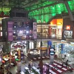 ...a view of the entire food court down below