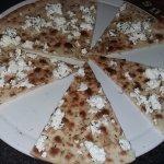 ...garlic bread & Feta cheese starter