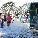 Emerald Owl Productions putting on a slime-time and foam event. The kids always have a blast!