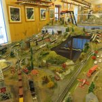 Intricate detail in the working model setups
