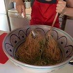 Big pasta bowls are Marina's favourite