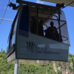 Fun cable car to the top!