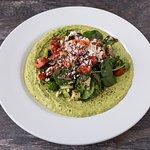 Red Quinoa Cilantro Hummus