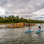 Paddling with Drava flosers