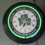 Irish humor clock