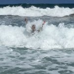 Nice waves, be carefull....