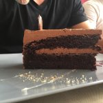 Zadar's way et dessert gâteau chocolat/Maraska