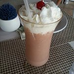 Awesome milkshakes at the creperie