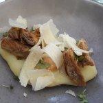 le parmentier truffé jaune d'oeuf et parmesan