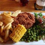 Chicken pan fried £8.75