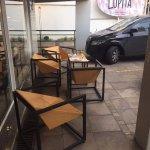 Mesas da calçada