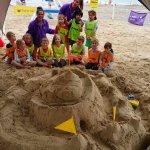 Albatros Club de Plage - Mini Club activities - Sand castle - Château de sable géant