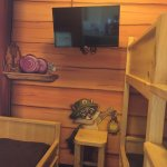 The kid's portion of the Kid's Cabin Suite