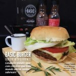 Cheese Salada Basic Burger