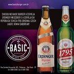 Novas cervejas no Basic Burger