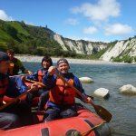 The Papa Gorge, Mangaweka is a 1hr rafting adventure great for all ages 3 years and older