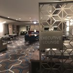 Exiting the Executive elevators and entering the Executive Lounge floor/area