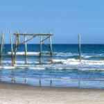 North Topsail Beach, by Surf City Campground, Surf City NC