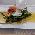 Asparagus with Egg Viniagrette