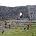 The walls of Dun Aonghasa.