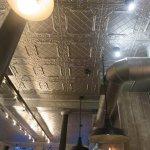 Tin roof tiles