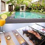 lobby view pool