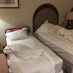 Hilton Madinah is a disaster! Check-in took +/-45 minutes. After check in.below is my new room.h