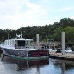 Cumberland Island dock for the Inn.