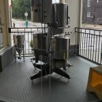 The commercial brewing process! A great tour.