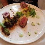 Tuna at Divino's