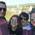 Família na Cataratas do Iguaçu