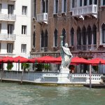 View from the Canal of the Palazzo at Bauer Hotel.