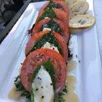 Mozzarella and fresh tomatos