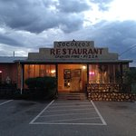 Socorro's Restaurant at dusk