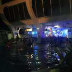 Bar and Pool @ night