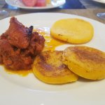 Breakfast Jerky beef Stew and Tortillas